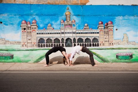 Mysore, capitale du yoga contemporain