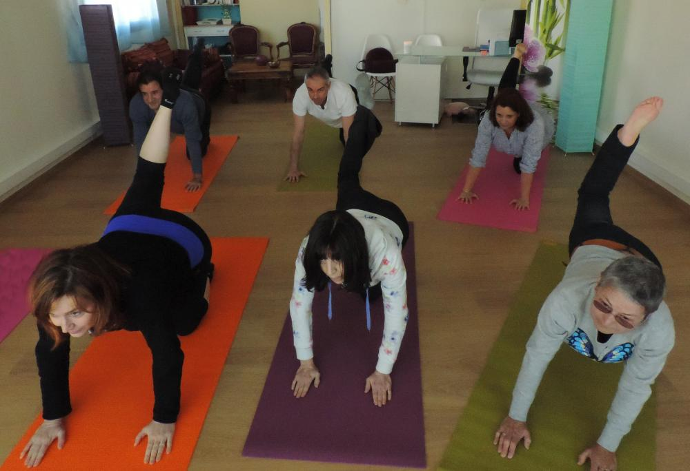 Be HappYoga Cours collectifs adultes