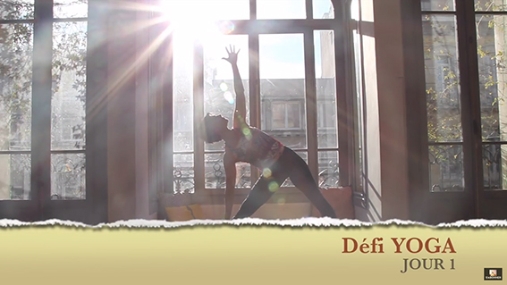 Defi yoga jour1 video