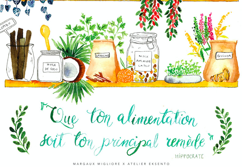fondements alimentation saine yoga