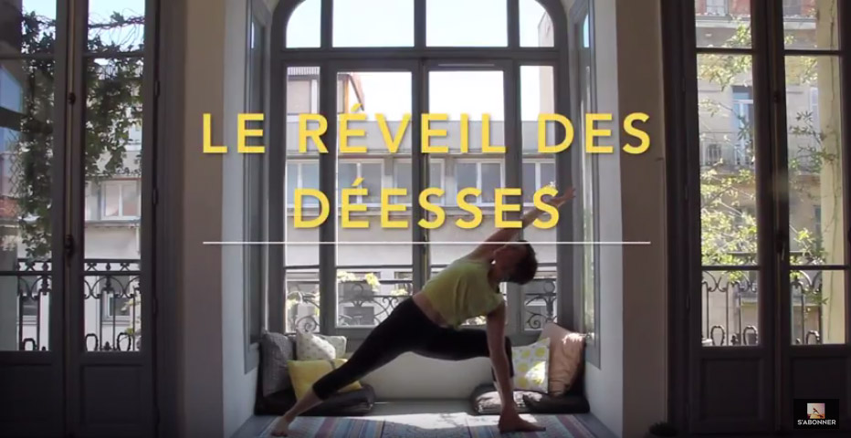 reveil deesse yoga video